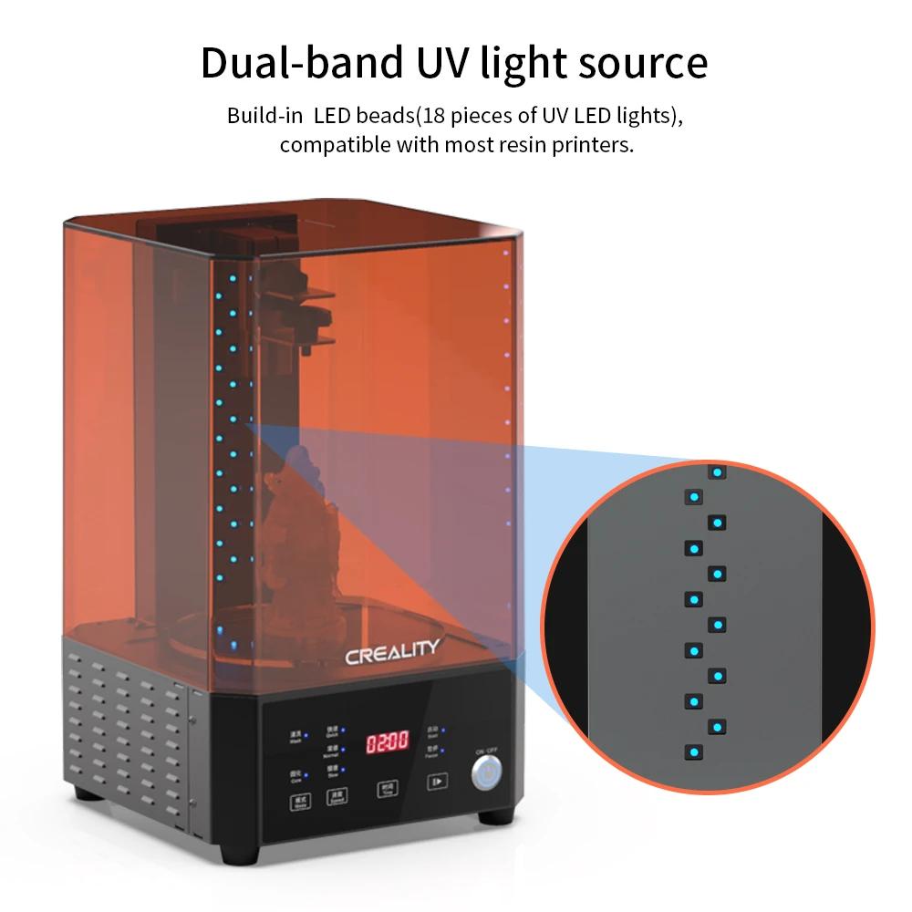 UW-01 Washing/Curing Machine, Creality 3D Printer UK