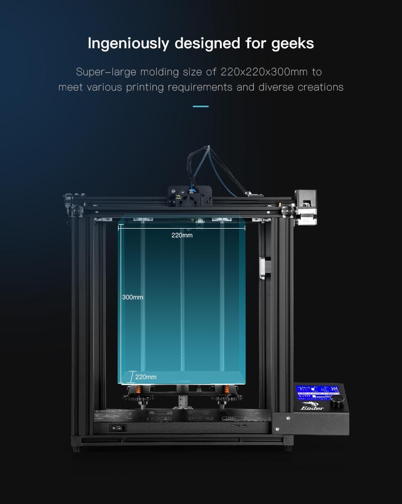 Creality Ender-5 Pro 3D Printer UK, Creality 3D Printer UK