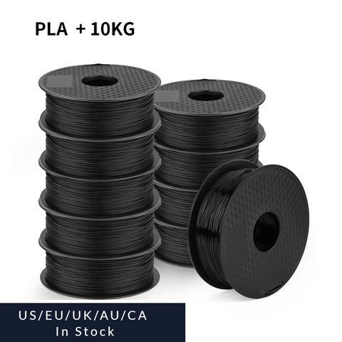 Ender PLA Filament ,Creality Ender Series PLA Black/White Filament Bundles 10Pack, 1KG/Pack uk