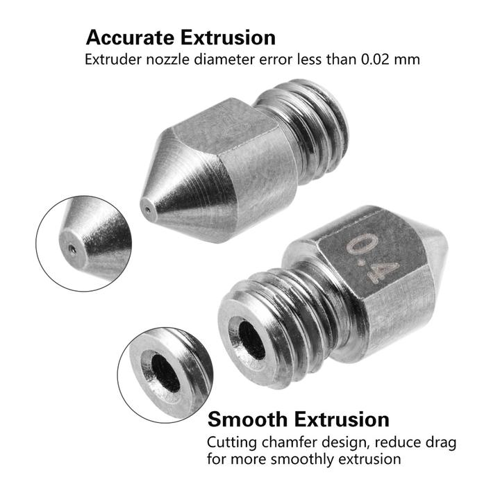 Tungsten Creality 3D Printer Extruder Nozzles For CR/Ender Series