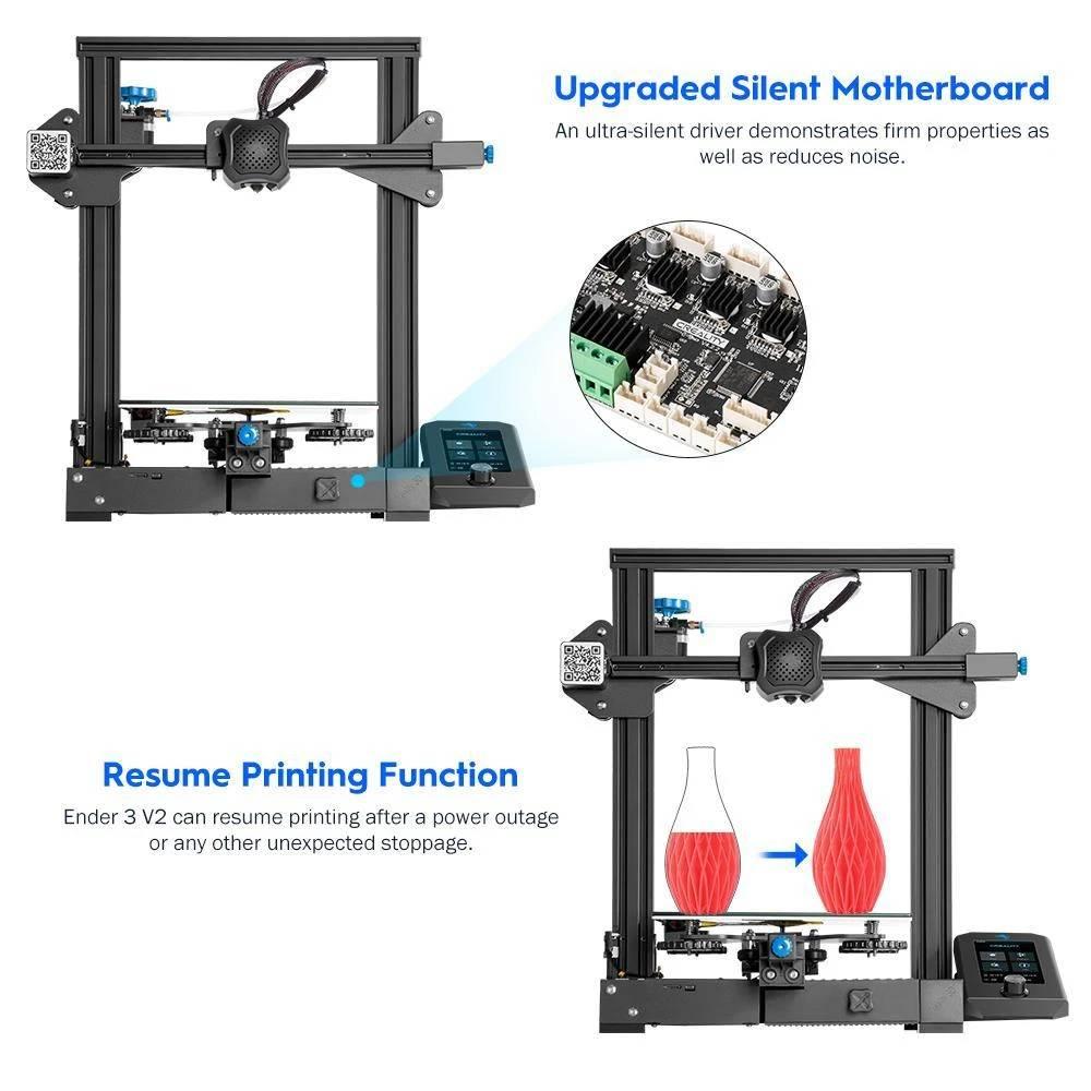 Creality Ender 3 V2 Printer UK, Creality 3D Printer UK