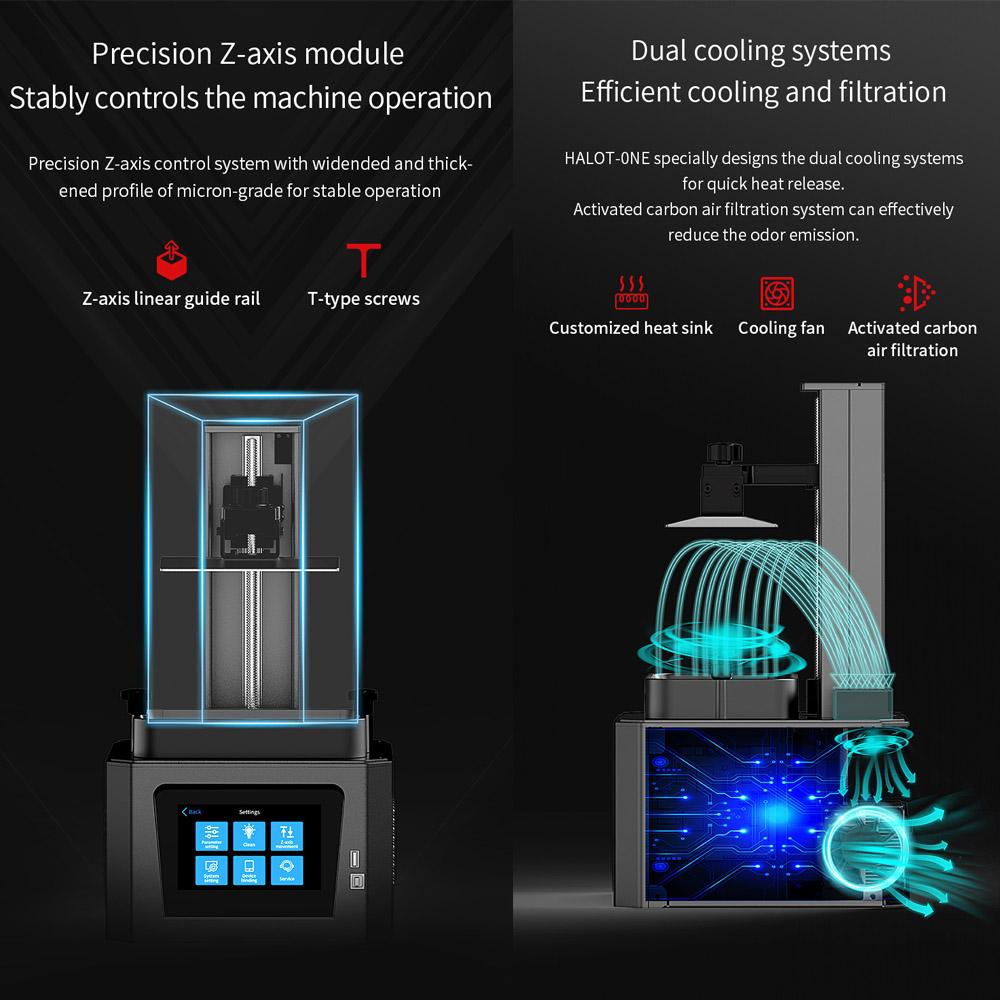 UK Creality Halot One Resin 3D Printer 2
