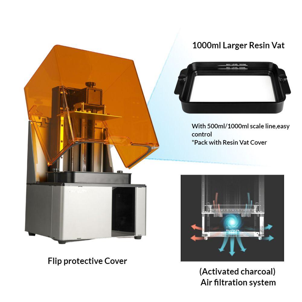 UK Creality Cl-89 Resin 3D Printer 2