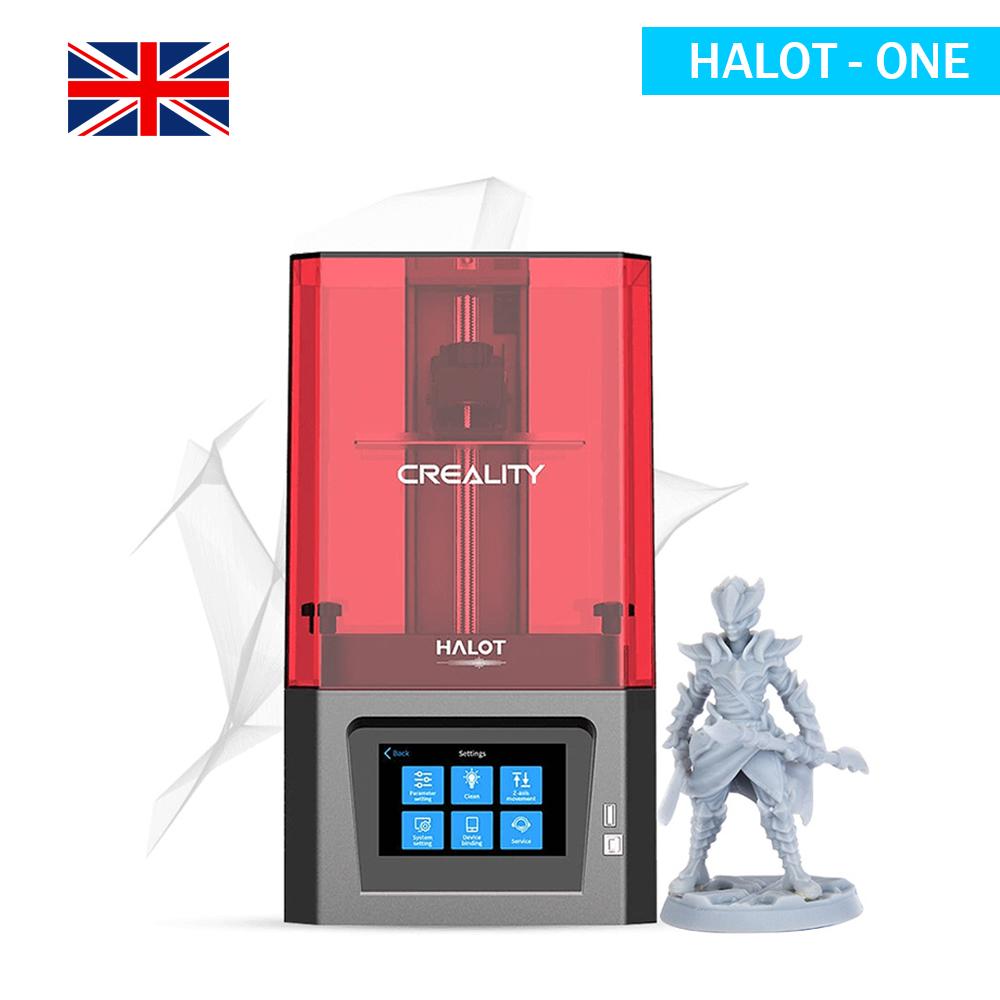 UK Creality Halot One Resin 3D Printer
