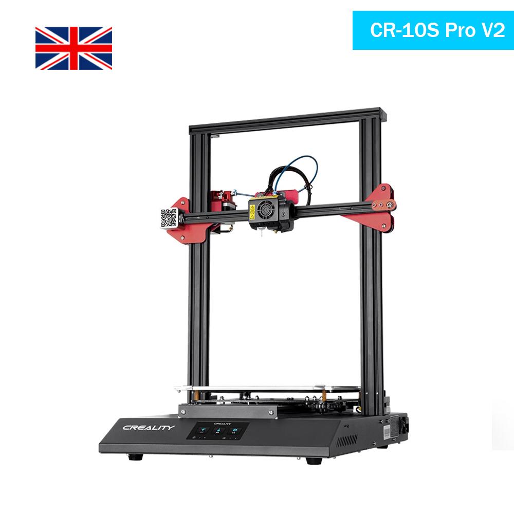UK Creality CR 10S Pro V2 3D Printer