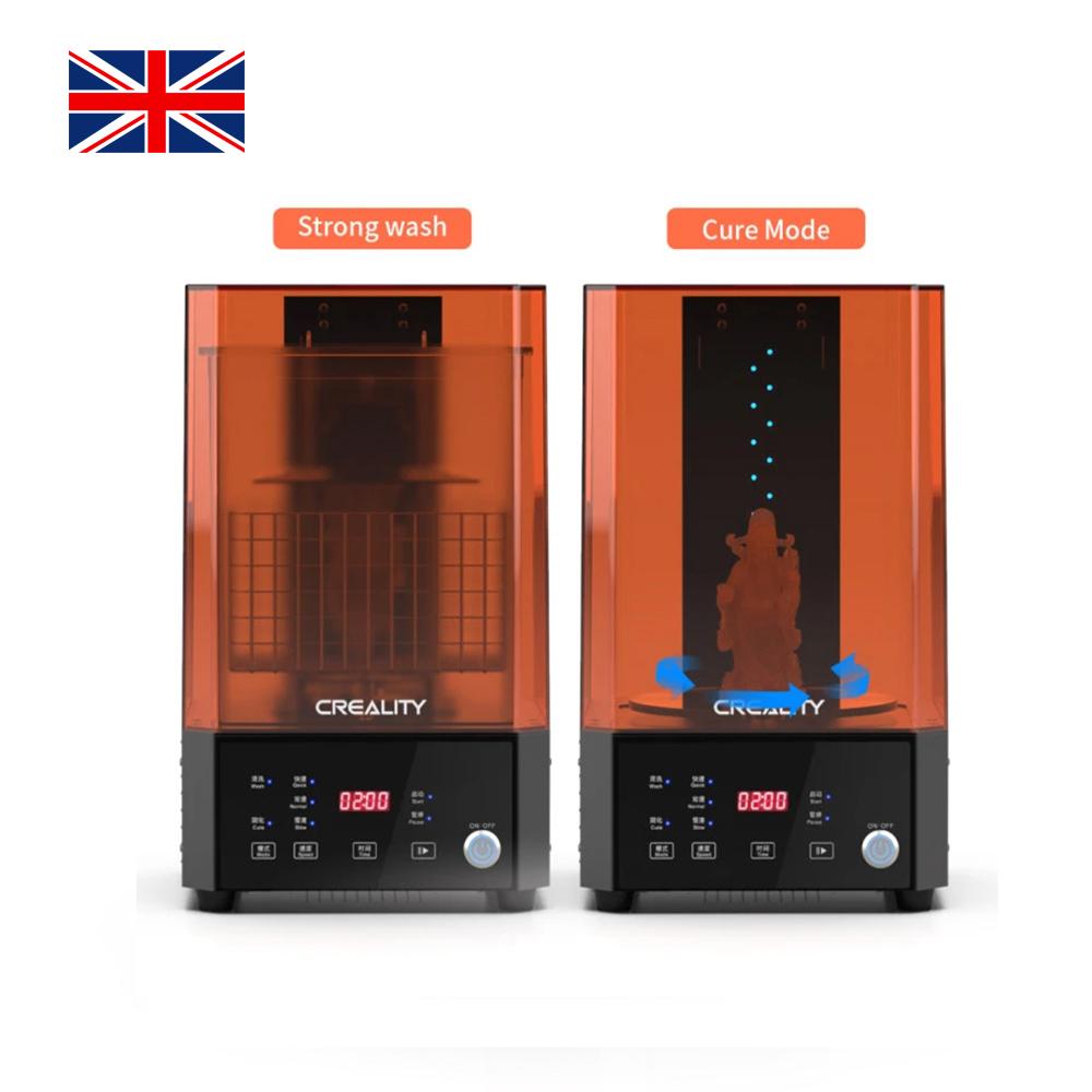 UW-01 Washing/Curing Machine, Creality 3D Printer UK-1