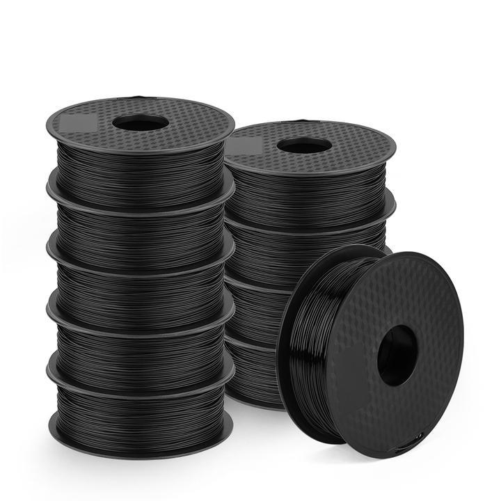 Ender PLA Filament ,Creality Ender Series PLA Black/White Filament Bundles 10Pack, 1KG/Pack UK store
