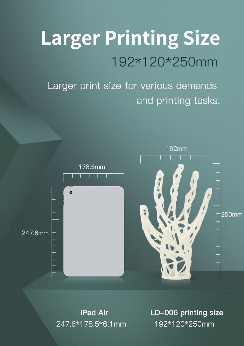 Creality3D LD-006 4K Resin 3D Printer UK